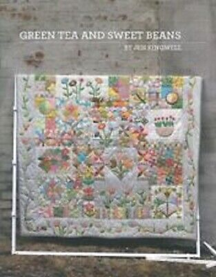GREEN TEA AND SWEET BEANS By Jen Kingwell Quilting Pattern Booklet