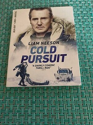 cold pursuit blu ray And Dvd