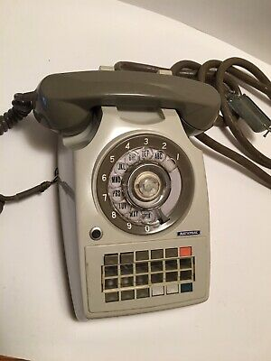 Vintage National Telephone Model 820 Untested Business Phone Switchboard Phone