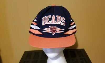 a8d09137 VINTAGE NFL CHICAGO Bears Mitchell And & Ness Laser Stitch Snapback ...