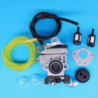 Carburetor For Ardisam Earthquake E43 Auger 300486 11334 43CC 51.7CC Fuel Line