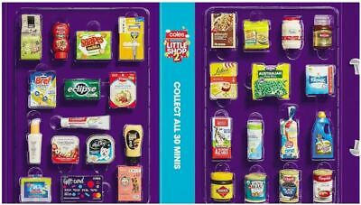 Coles Little Shop 2 Mini Collectibles - Select from List