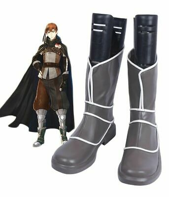 D1} Fire Emblem Awakening Robin Boot Party Shoes Cosplay Boots Custom made