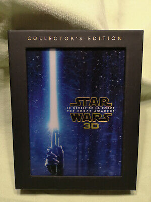 Coffret Collector 3 Blu-Ray Star Wars Le réveil de la Force 3D