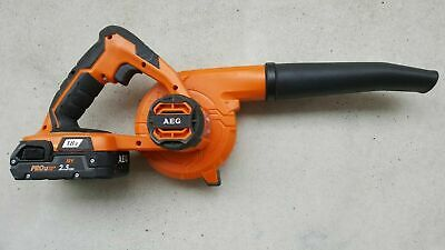 AEG 18V GM18EX Compact Worksite Blower & 2.5Ah battery