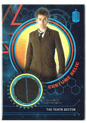 Doctor Who Extraterrestial Encounters Costume Relic Card The Tenth Doctor #99/99