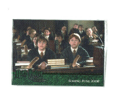 Harry Potter Chamber of Secrets Dealer Incentive Green Foil Promo Card Set