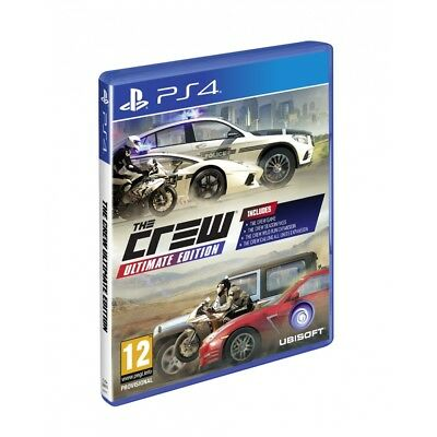 Ps4 PlayStation 4 The Crew Ultimate Edition