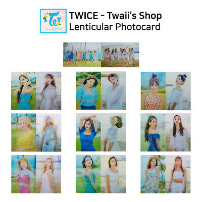 TWICE - POP UP STORE Twaii's Shop Official Lenticular Photocard - Member SET