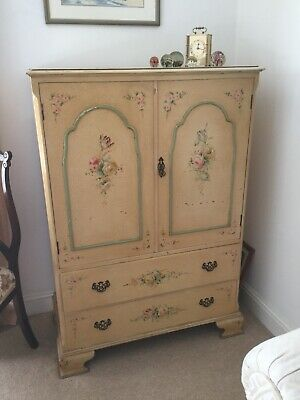 Antique Bedroom Suite 1920/30's Three Piece Painted Original