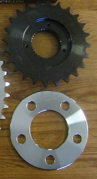 Chain Conversion BigTwin Transmission Sprocket 24 Tooth for your Harley Davidson