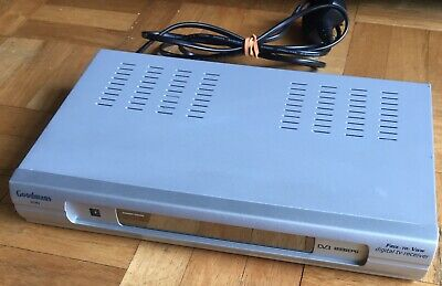 Goodmans GDB3 Digital TV Television Receiver Freeview Box | Tested & Working