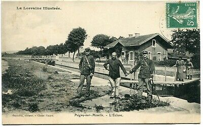 CPA - Carte Postale - France - Pagny-sur-Moselle - L'Ecluse (I9637)