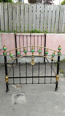 BRASS and IRON highly decorative bed