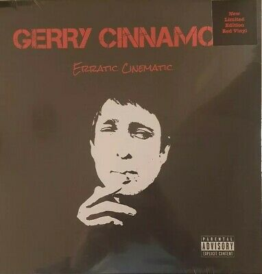 Gerry Cinnamon Erratic Cinematic Vinyl LP Red Coloured New 2019