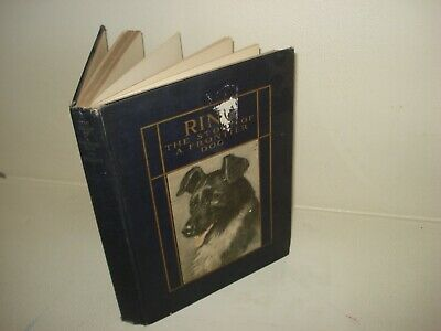 1921 RING A FRONTIER DOG Walter McCaleb Art Illustrated by Edwin Megargee 1st ED