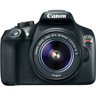 Canon EOS Rebel T6 DSLR Camera with 18-55mm f/3.5-5 IS II Lens (Black) #1159C003