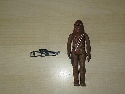 Star Wars Chewbacca With Crossbow Action Figure Original 12 Back Free Shipping