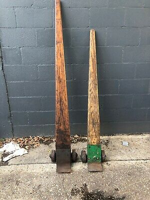 Lever Dolly Pry Bar Selling Two Wood