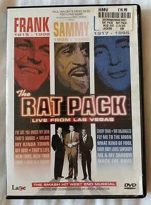 The Rat Pack DVD Live From Las Vegas