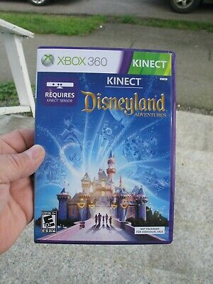 Kinect Disneyland Adventures [Xbox 360] Disney Childrens Kids Game Fun tested