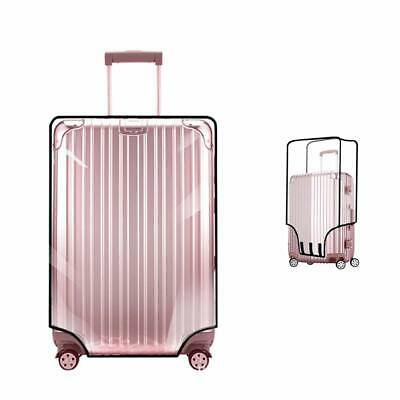Luggage Protector Case PVC Transparent Baggage Suitcase Protective Cover 18-30''