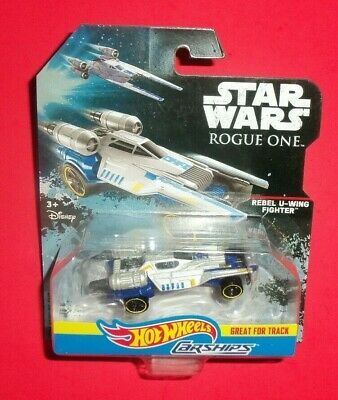 Hot Wheels Star Wars - Carships Vehicles -New- Rebel U-Wing Fighter - Rogue One