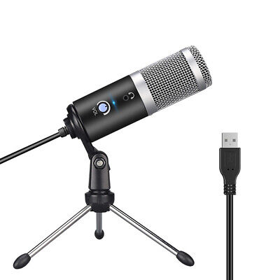 Professional Microphone for Computer with USB Plug & Tripod Stand KTV Mic T7K1
