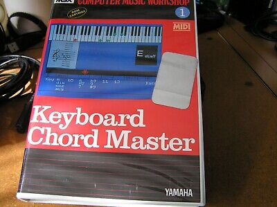Yamaha Computer Music Workshop Cartridge For Msx Home Computers New