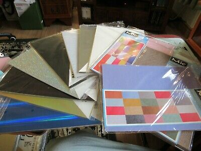 Mixed Bundle A4 Speciality Card & Paper–Mic,Holographic,Parchment Etc–122 Sheets