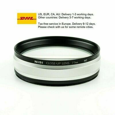 NiSi Close Up Lens Kit NC 77mm (with 67 and 72mm adapters) Macro lens amplifier