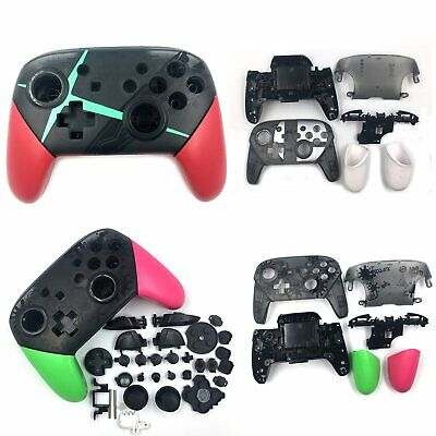 For NS Switch PRO Controller Protective Cover Case Housing Shell w/Stand Buttons