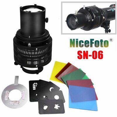 NiceFoto SN-06 Optical Focalize Snoot Special Shaped Effect Beam Light Cylinder