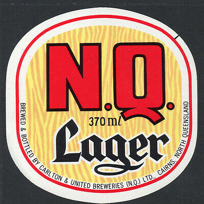 Beer Label:  Nq Larger  370 Ml Perfect Condition