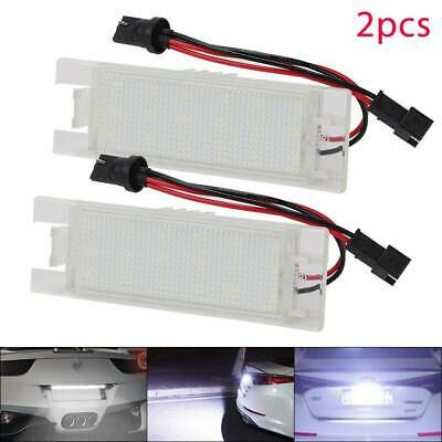 Led License Number Plate Light Vauxhall Opel Corsa C D Astra H J Insignia Vectra