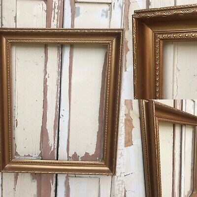 Ornate Picture Painting Frame Antique Gold LARGE REGENCY STYLE