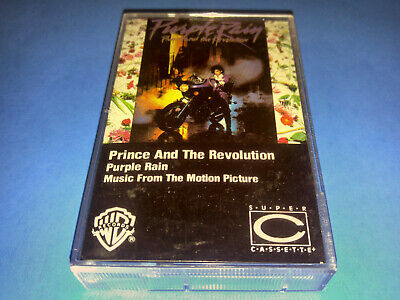 PRINCE AND THE REVOLUTION - PURPLE RAIN MUSIC FROM THE MOTION PICTURE cassette