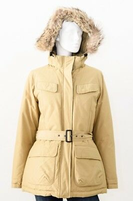 Woolrich Jacket Trench Parka Woman Cream Size L - 49% Occasion
