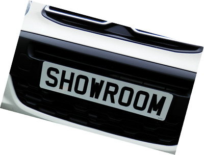 Showroom Show Display Number Plate Suction Cups Low Profile 35Mm Both Sides No G