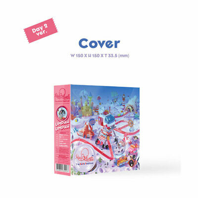 Red Velvet The Reve Festival' Day 2' [Day 2 Ver.] Full Package + Poster(Option)