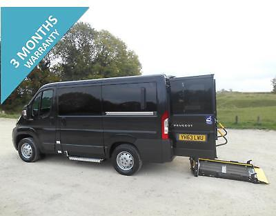 2014 Peugeot Boxer 333 4 Seat Wheelchair Accessible Disabled Minibus