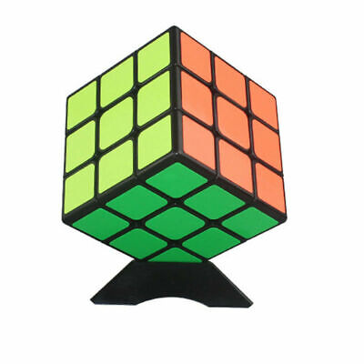 Kids Rubiks Cube Fun Original Toy Rubic Magic Mind Game Classic Rubix Puzzle 3X3