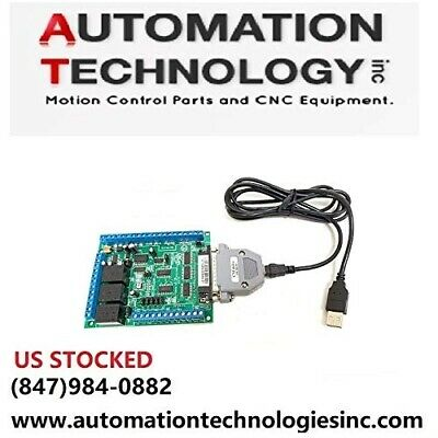6 Axis USB MOTION CONTROLLER UC100 for Mach3 with Relay and Spindle Control C11G