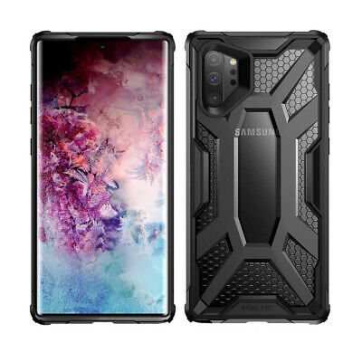 Galaxy Note 10 Plus Case Poetic Lightweight Slim Thin TPU Shockproof Cover Clear