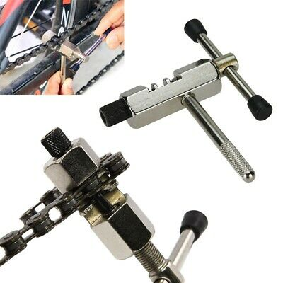 Bike Steel Chain Breaker Splitter Cutter Repair Tool Silver for Cycling Bic U4L6
