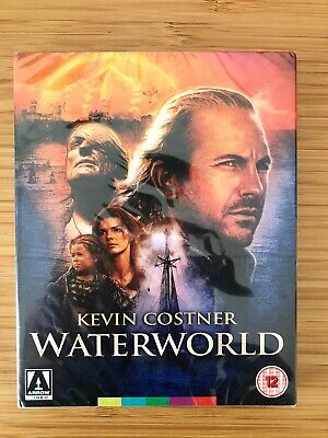 Kevin Costner's WATERWORLD Arrow Video Limited Edition SLIPCOVER Bluray Region B