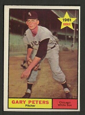 1961 Topps #303 Gary Peters Chicago White Sox ex-mt