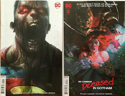 DCeased #2 Francesco Mattina + Yasmine Putri Variant Set (DC 2019) 1st Print  NM