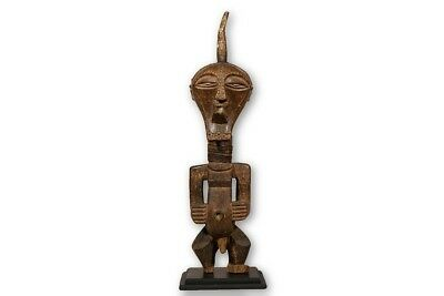 """Songye Figure / Statue 39"""" with base - DRC"""