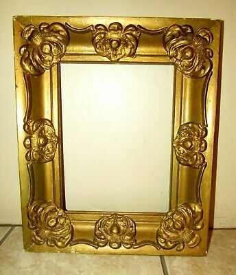 Antique Great Quality Gilt Frame For Fine Painting 9X12 OUTSIDE 16 3/4 X13 3/4""